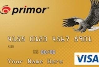 Green Dot Bank primor Secured Visa Gold Card