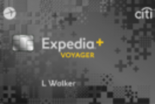 EXPEDIA®+ VOYAGER CARD From Citi