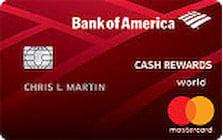 Bank of America Cash Rewards for Students
